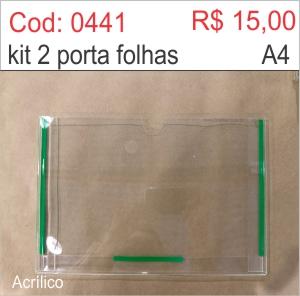 Saldão - Porta Folha 2 dobras em Acrílico (Horizontal)  - Towbar Sinalização de Segurança