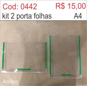 Saldão - Porta Folha 2 dobras em Acrílico Horizontal e Vertical  - Towbar Sinalização de Segurança