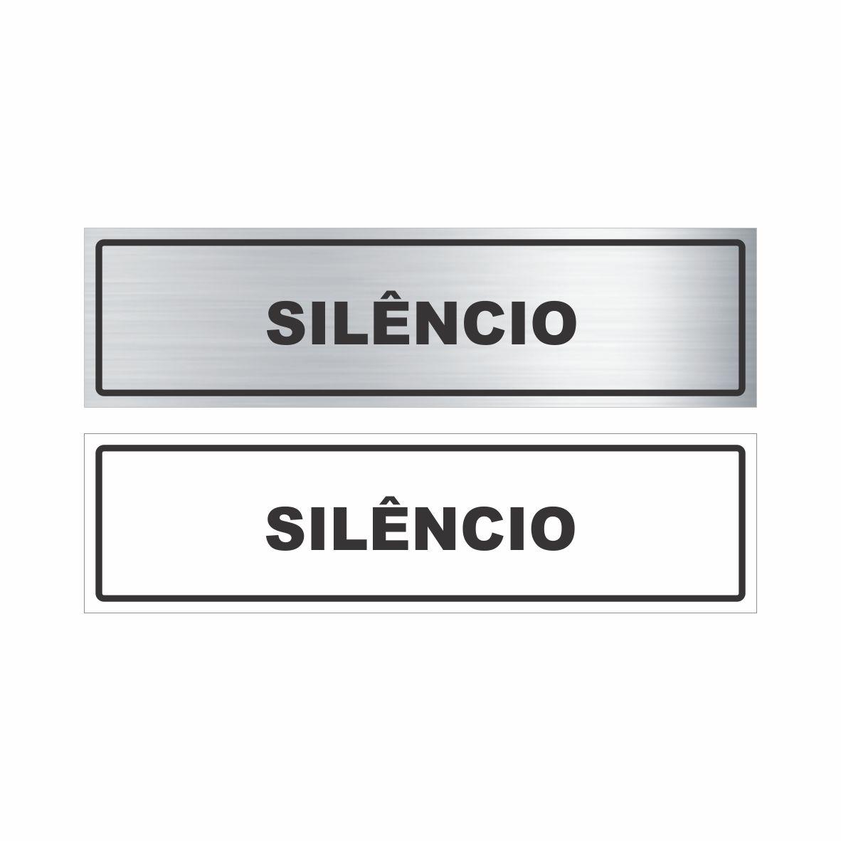Silêncio  - Towbar Sinalização de Segurança