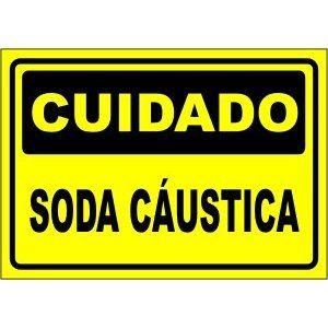 Soda Cáustica  - Towbar Sinalização de Segurança