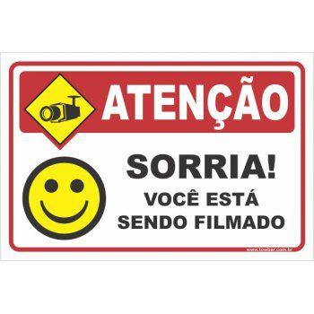 Sorria! Você Está Sendo Filmado  - Towbar Sinalização de Segurança