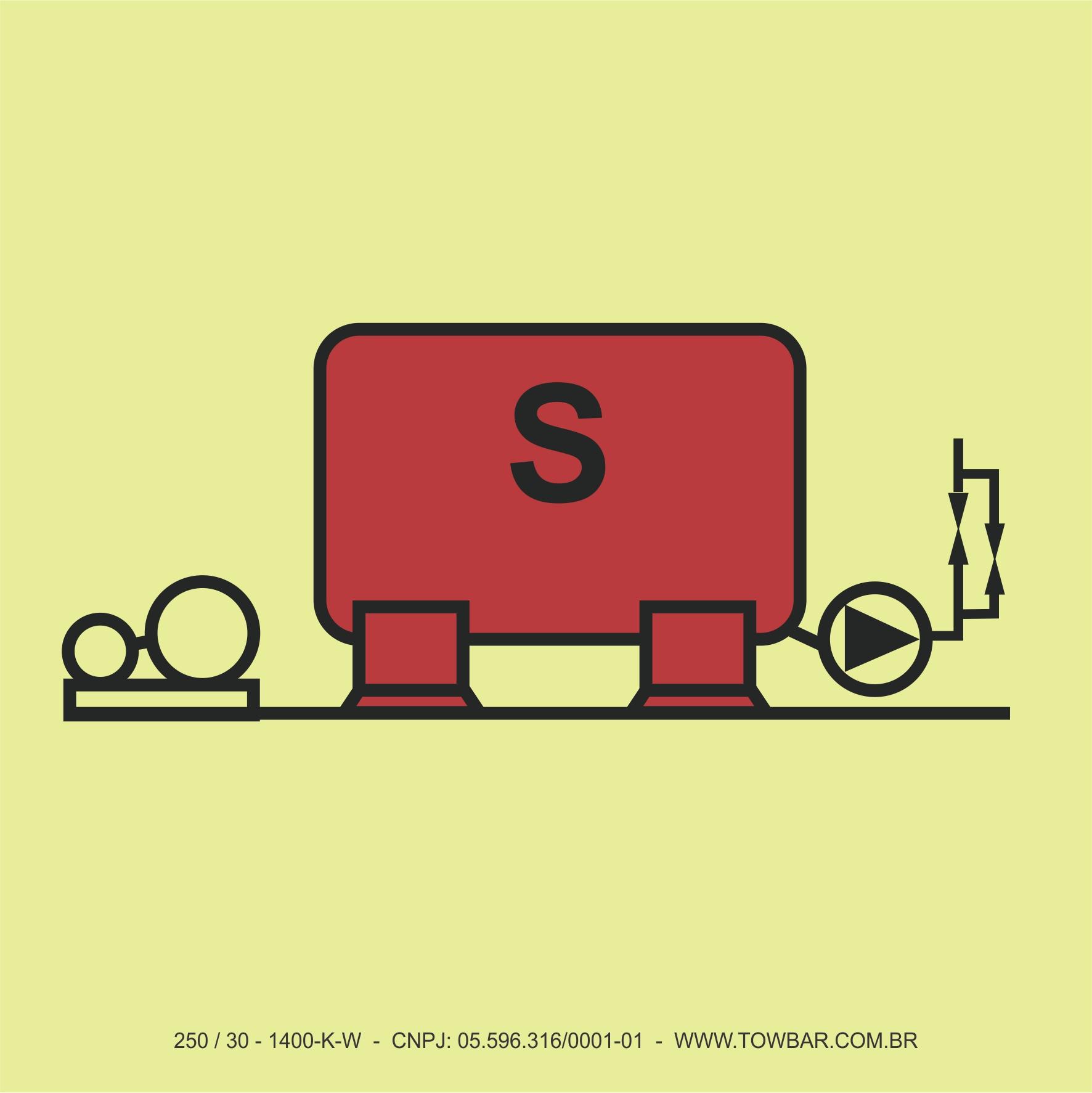 Instalações de Combate ao Incêndio Sprinkler (Sprinkler Installation)  - Towbar Sinalização de Segurança