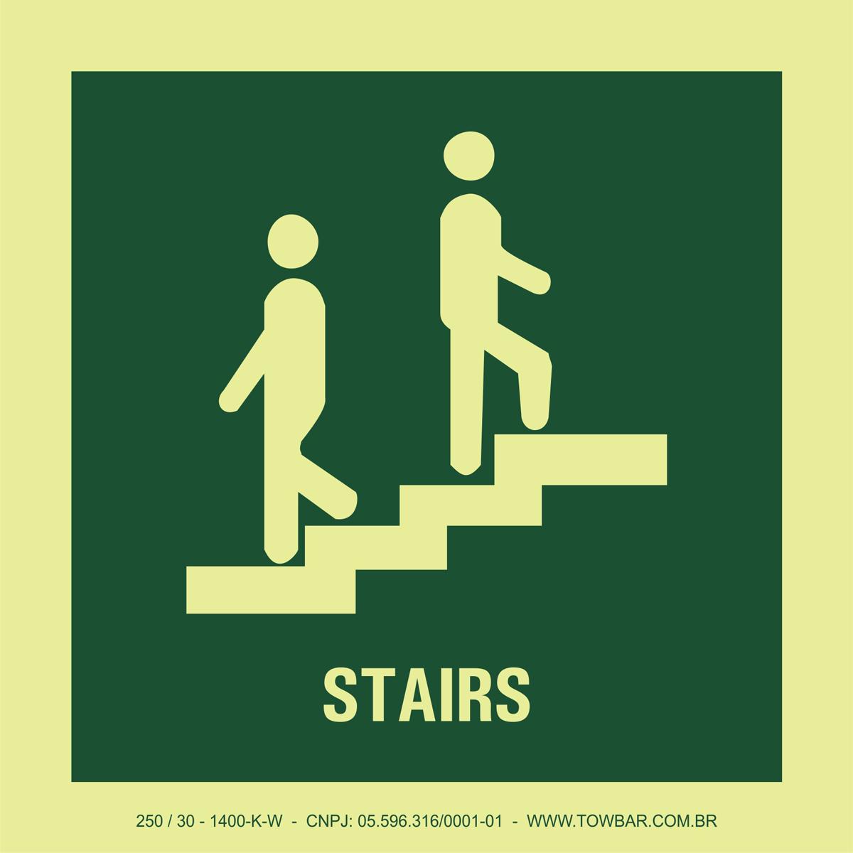 Stairs  - Towbar Sinalização de Segurança