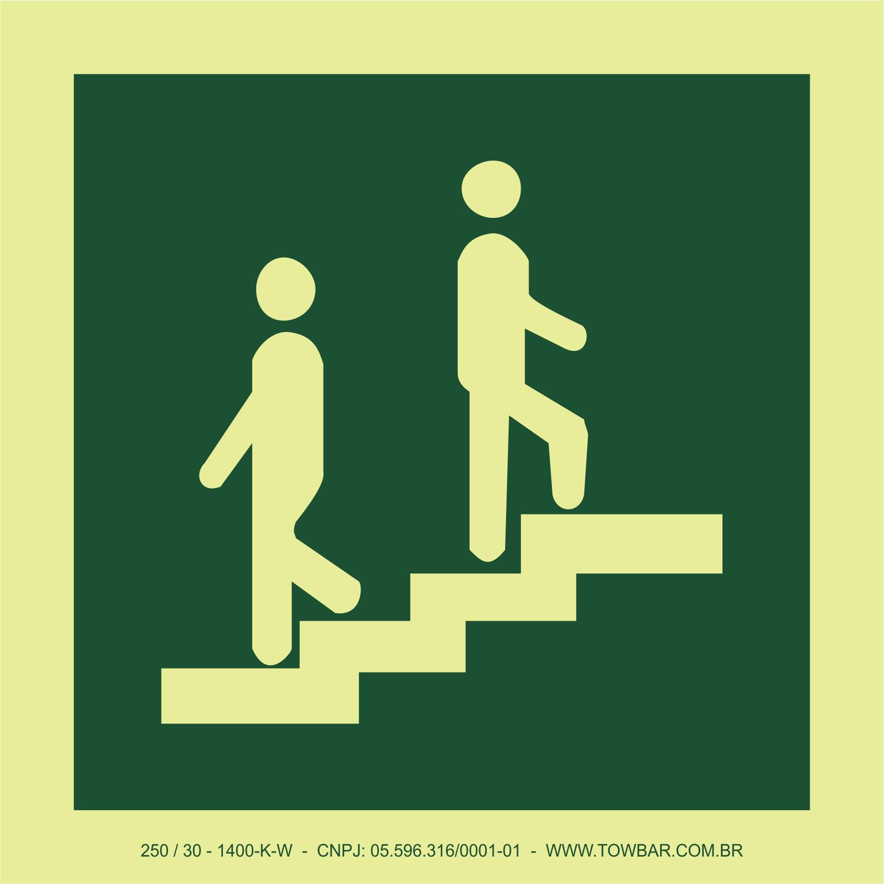Escadas (Stairs)  - Towbar Sinalização de Segurança