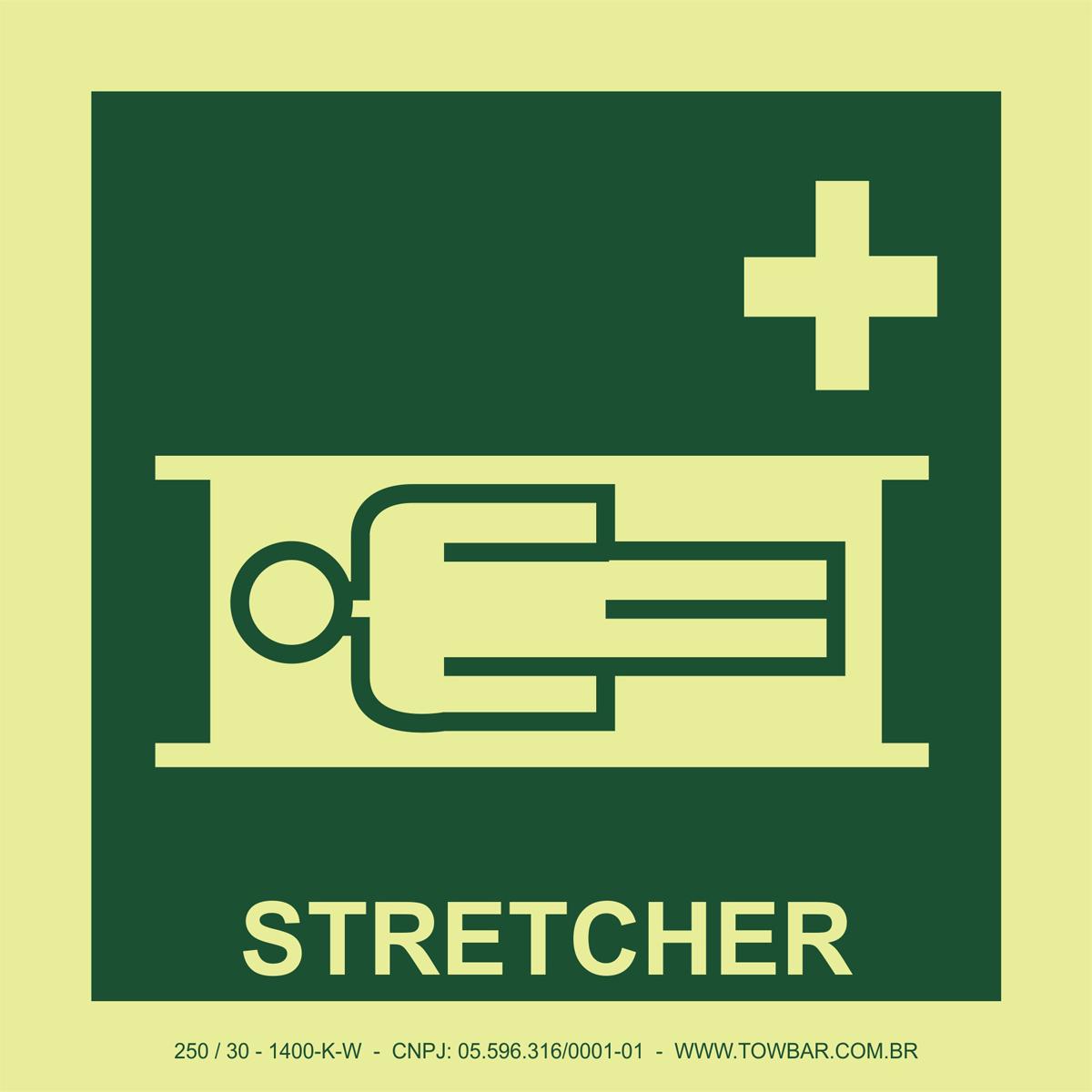Stretcher  - Towbar Sinalização de Segurança