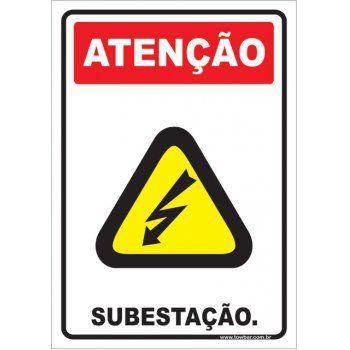 Subestação.  - Towbar Sinalização de Segurança