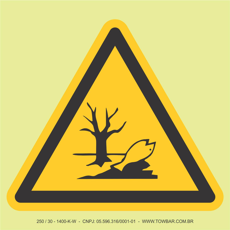 Substância Nociva ao Meio Ambiente  - Towbar Sinalização de Segurança