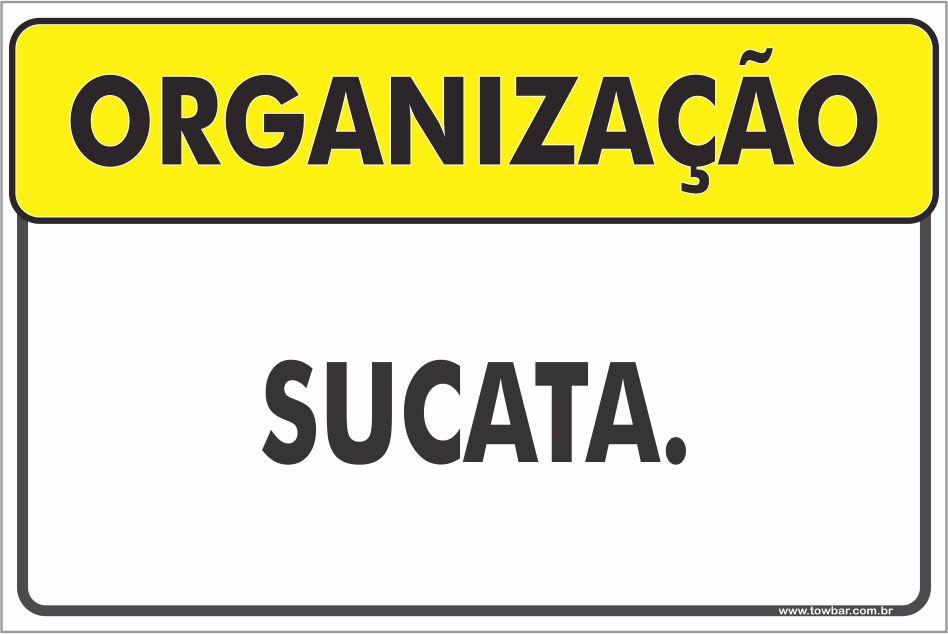 Sucata  - Towbar Sinalização de Segurança