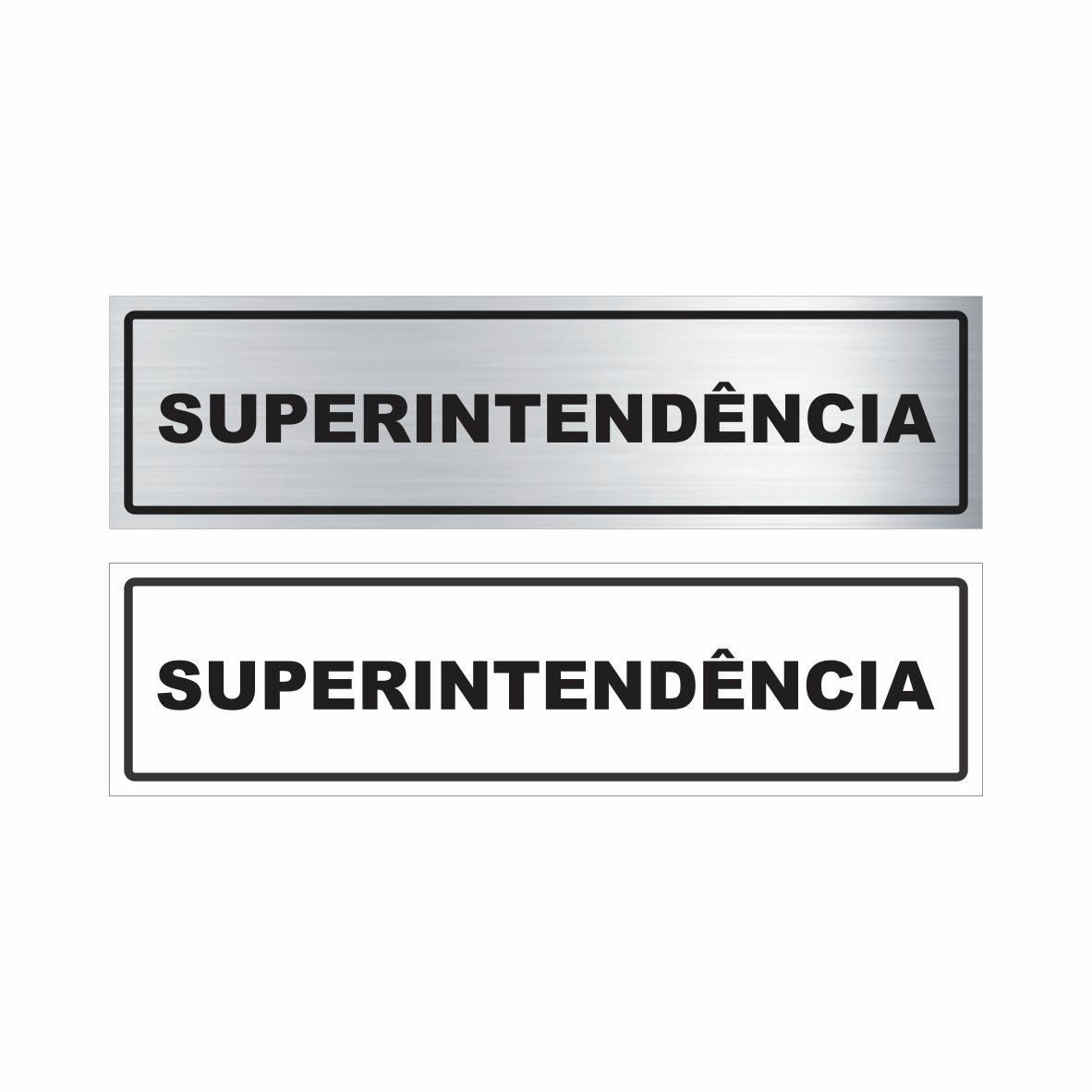 Superintendência   - Towbar Sinalização de Segurança