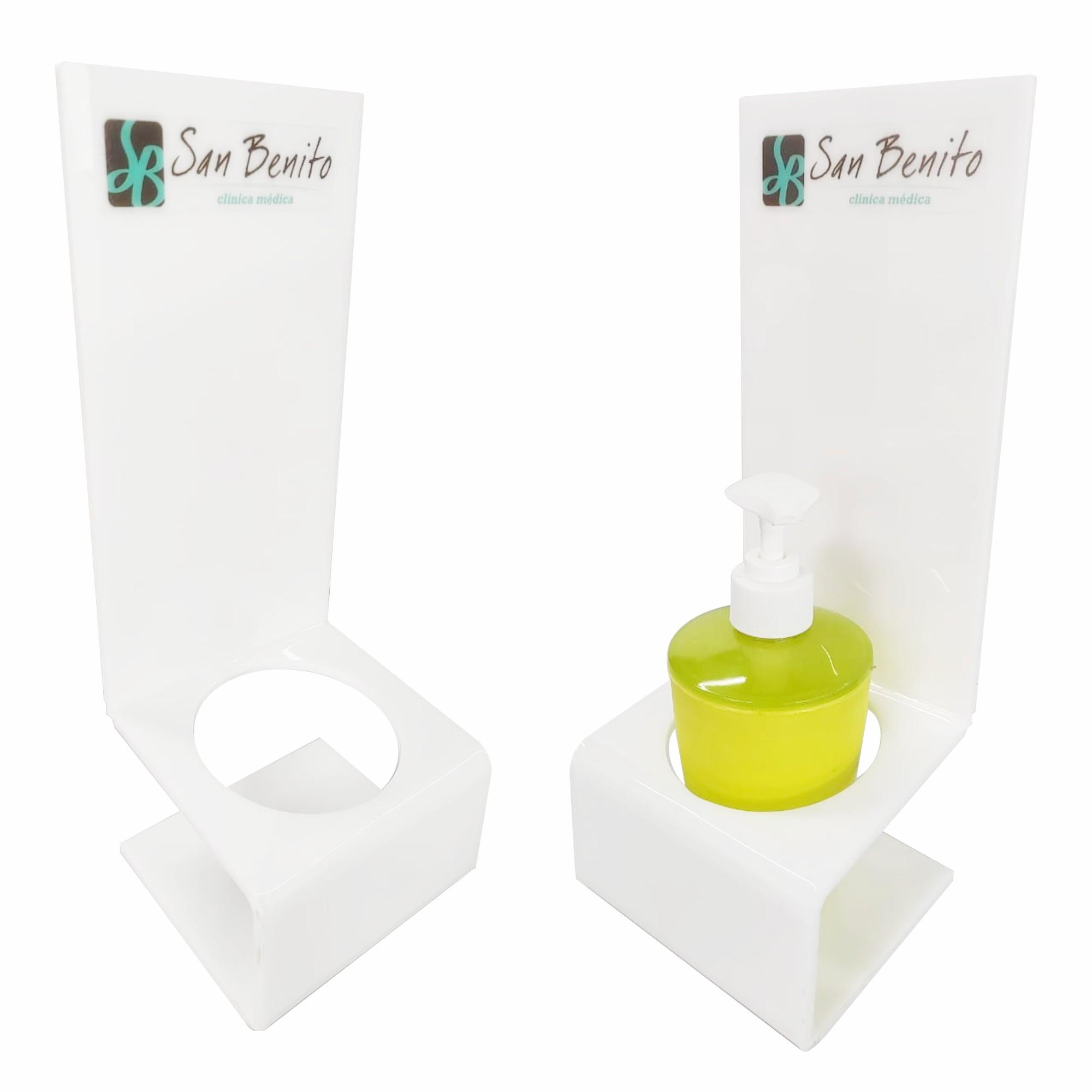 Suporte bancada para álcool em gel  - Towbar Sinalização de Segurança