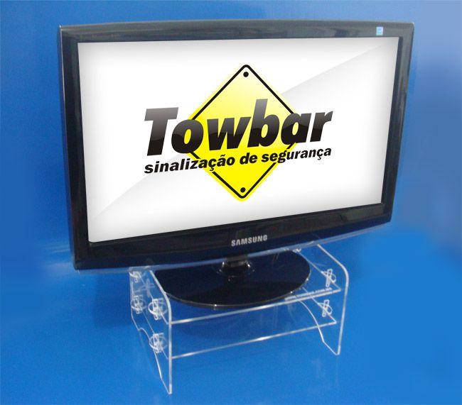 Suporte para monitor  - Towbar Sinalização de Segurança