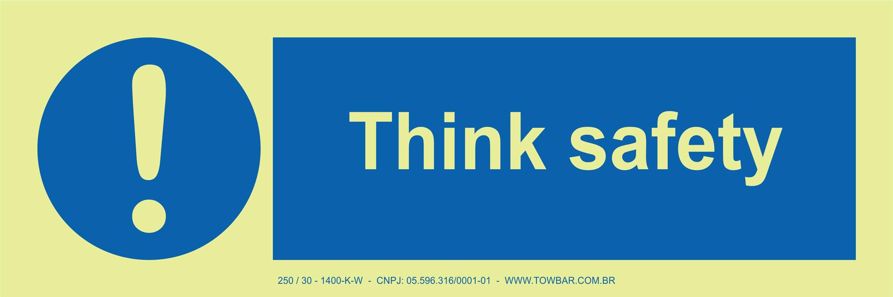 Think Safety  - Towbar Sinalização de Segurança
