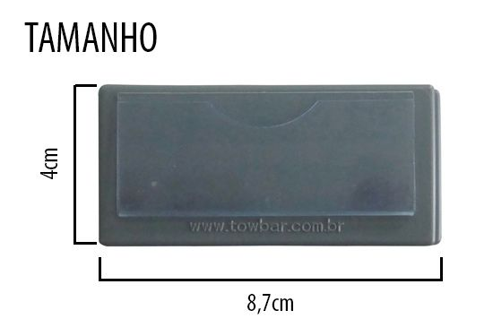 Topo para suporte kanban  - Towbar Sinalização de Segurança