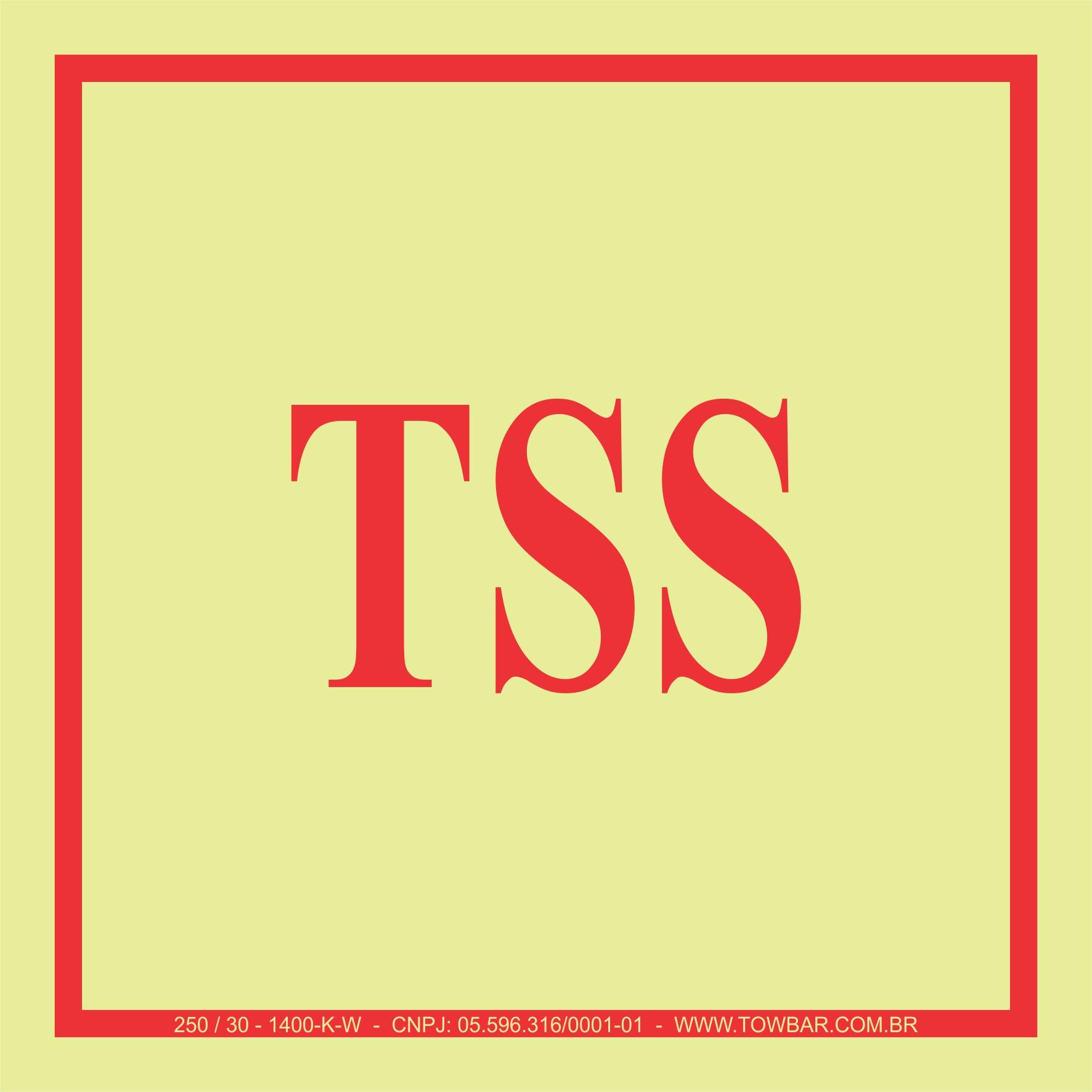 TSS  - Towbar Sinalização de Segurança