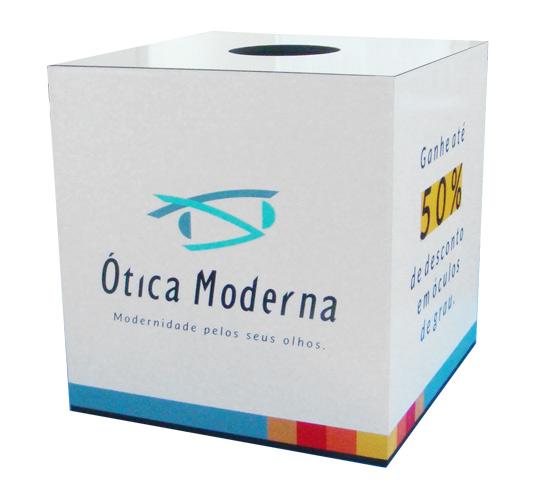 Urna  sorteio - mdf 6mm  - Towbar Sinalização de Segurança
