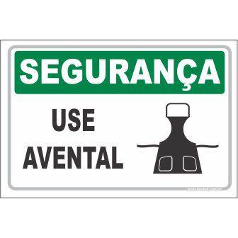 Use avental  - Towbar Sinalização de Segurança