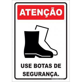 Use Botas de Segurança  - Towbar Sinalização de Segurança