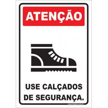 Use Calçados de Segurança.  - Towbar Sinalização de Segurança