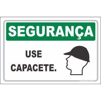 Use Capacete  - Towbar Sinalização de Segurança