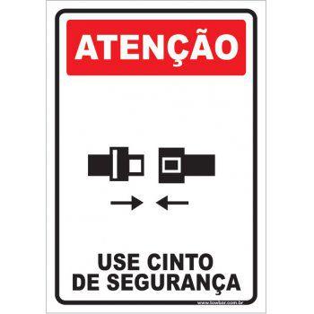 Use Cinto de Segurança  - Towbar Sinalização de Segurança