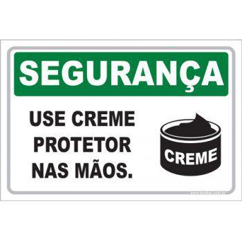 Use Creme Protetor nas Mãos  - Towbar Sinalização de Segurança