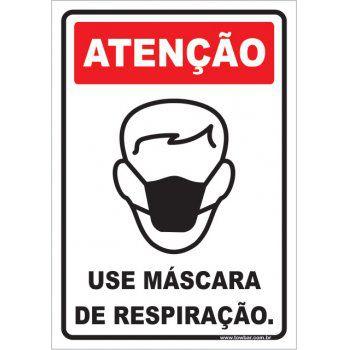 Use Máscara de Respiração  - Towbar Sinalização de Segurança