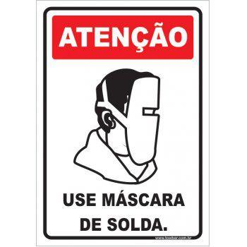 Use Máscara de Solda.  - Towbar Sinalização de Segurança