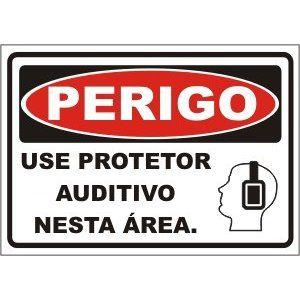 Use Protetor Auditivo  - Towbar Sinalização de Segurança