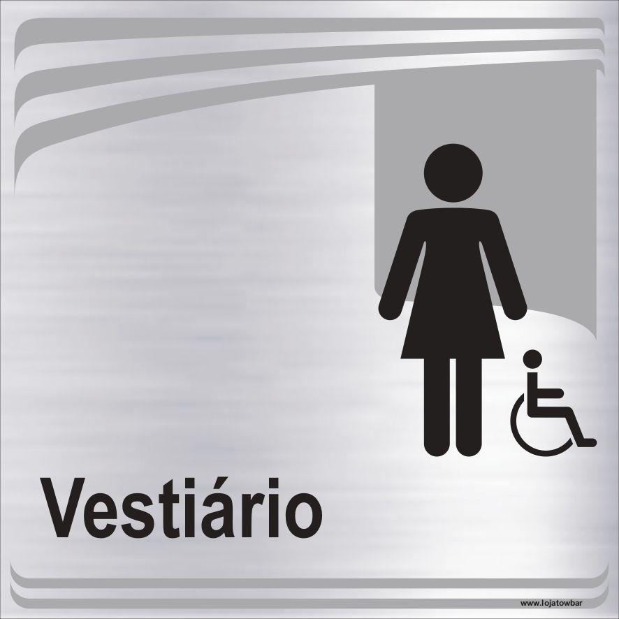 Vestiário feminino inclusivo  - Towbar Sinalização de Segurança