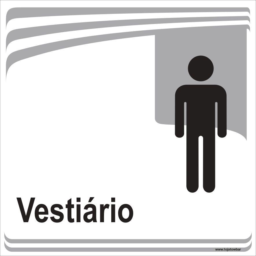 Vestiário masculino  - Towbar Sinalização de Segurança