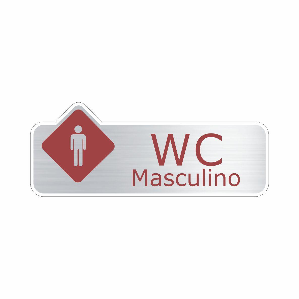 WC Masculino  - Towbar Sinalização de Segurança