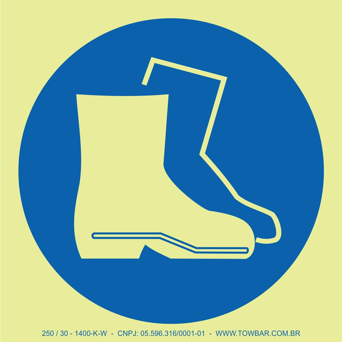 Wear Boots  - Towbar Sinalização de Segurança