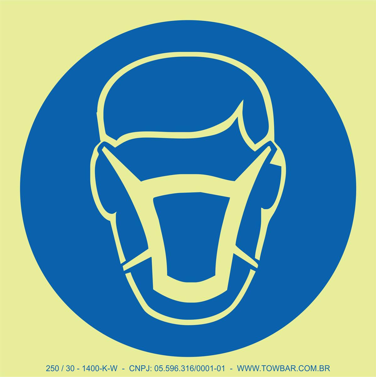 Wear Mask  - Towbar Sinalização de Segurança