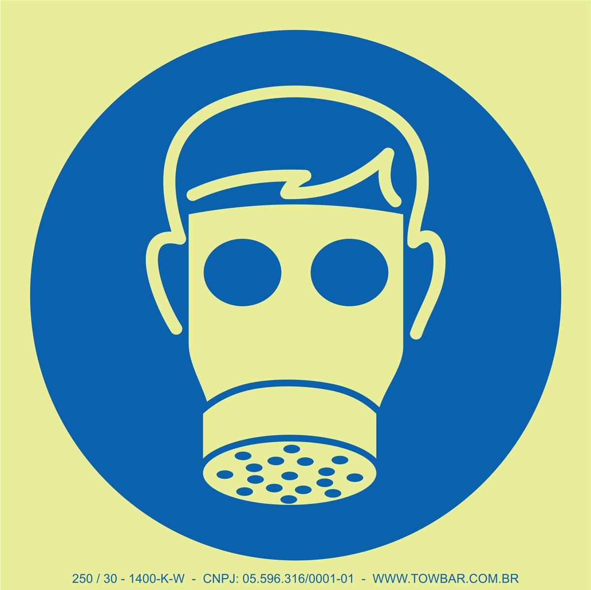 Wear Respirator  - Towbar Sinalização de Segurança