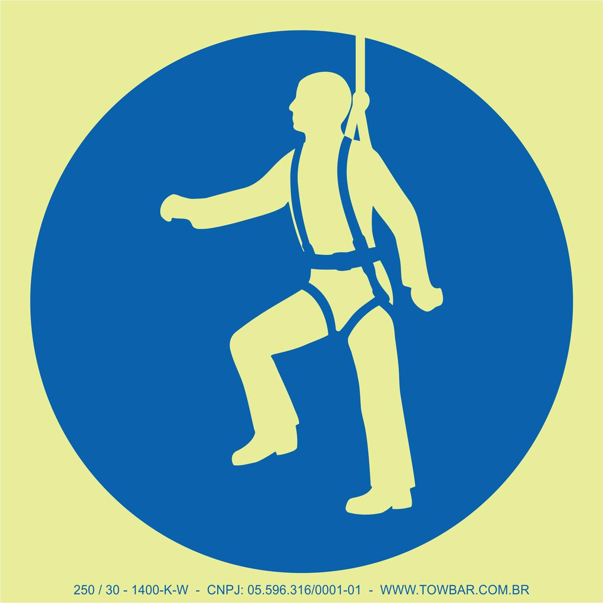 Wear Safety Harness  - Towbar Sinalização de Segurança