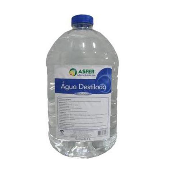 Água Destilada com 5 litros - Asfer
