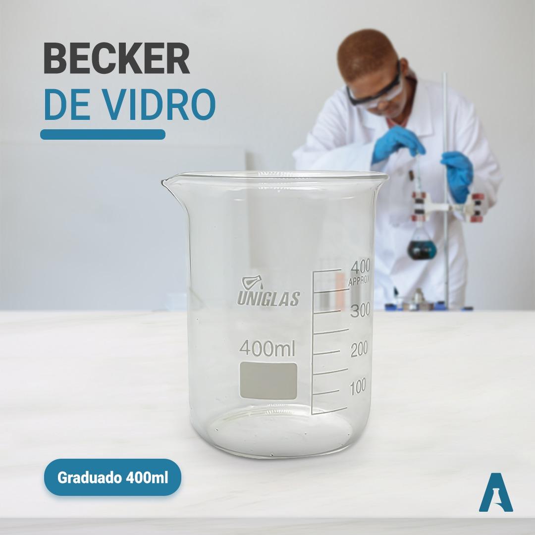 Becker de vidro - graduado - 400 ML