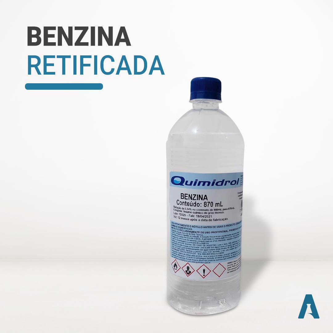 Benzina Retificada 870ML - Quimidrol