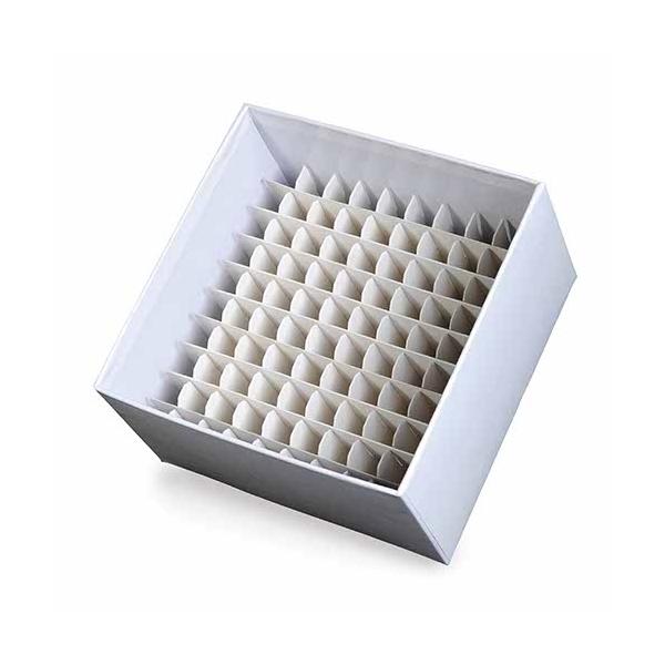 Caixa de Fibra de Papelão p/100tbs 1,5 a 2ml
