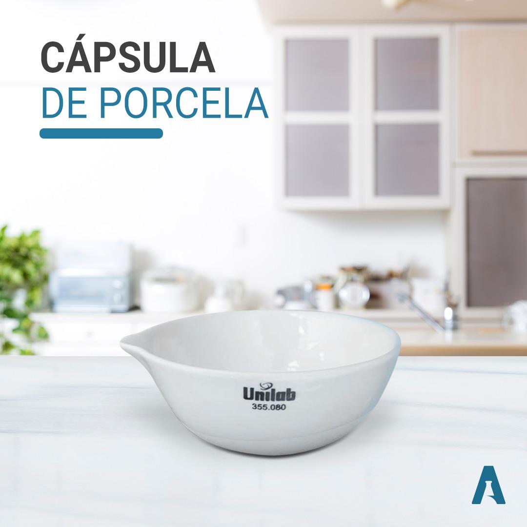 Capsula de evaporação de porcelana 35ml/60MM - Unilab