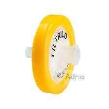 Filtro para Seringa Membrana Nylon 0,45um/25mm Não Estéril - C/100 Unidades Filtrilo