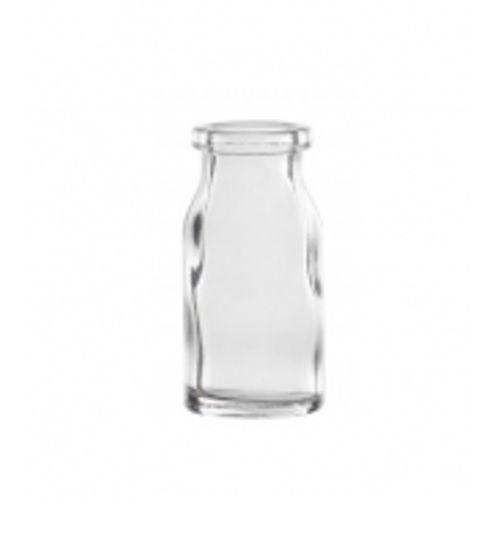 Frasco Injetável, Transparente, Tipo Penicilina, Capacidade 13ML , Boca 20mm C\ 10 Unidades