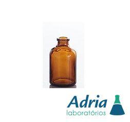 Frasco Injetável, Ambar, Tipo Penicilina, Capacidade 50ml, Boca 20mm, C\ 10 Unidades