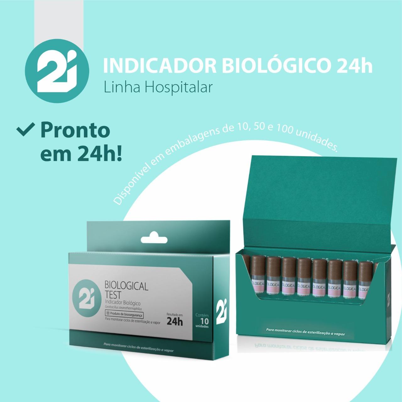 Indicador Biológico 24hs com 10un