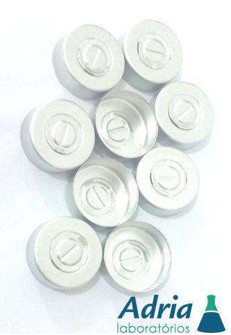 Lacre de Alumínio para Frasco Injetável Tipo Penicilina 20mm -- com 100 unidades