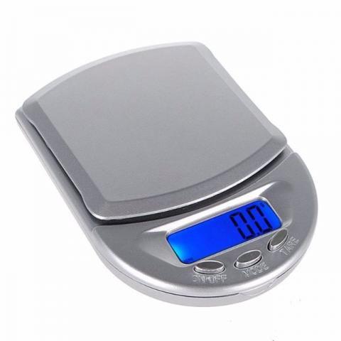 Mini Balança Digital de Bolso Max. 500gr Alta Precisão