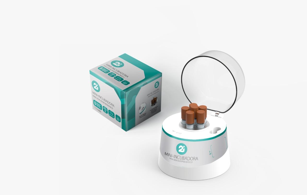 Mini Incubadora para Indicador Biológico