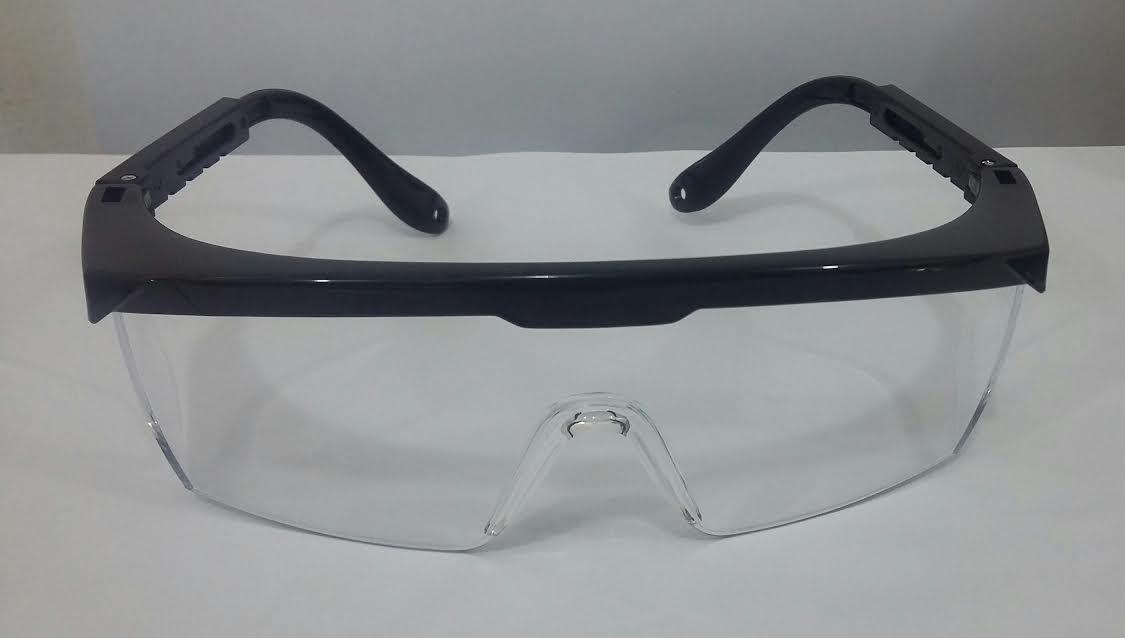 Óculos de Proteção em Acrílico Transparente