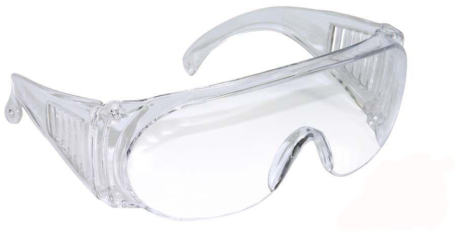 Óculos Proteção em Acrilico Transparente
