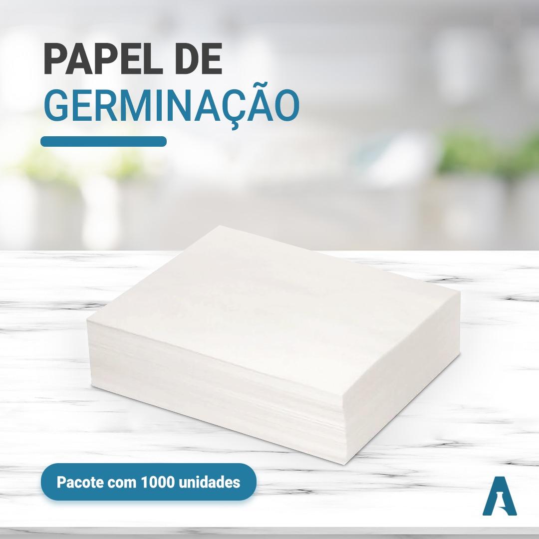 Papel de Germinação- caixa com 1000 unidades - Formato: 28x38cm